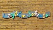 Schriftzug Leythe-Schule